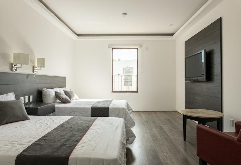 Next Yard & Suites Zona Industrial, San Luis Potosi, Quarto Quádruplo Standard, Quarto