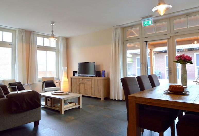 Spacious and Luxurious Apartment in Central Limburg, Posterholt With a Terrace!, Posterholt, Dzīvokļnumurs, Dzīvojamā istaba