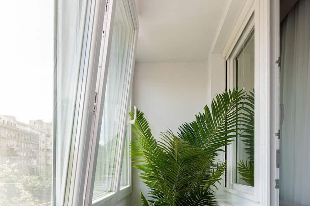 Departamento Deluxe, 3 habitaciones, baño privado, vista a la ciudad - Balcón