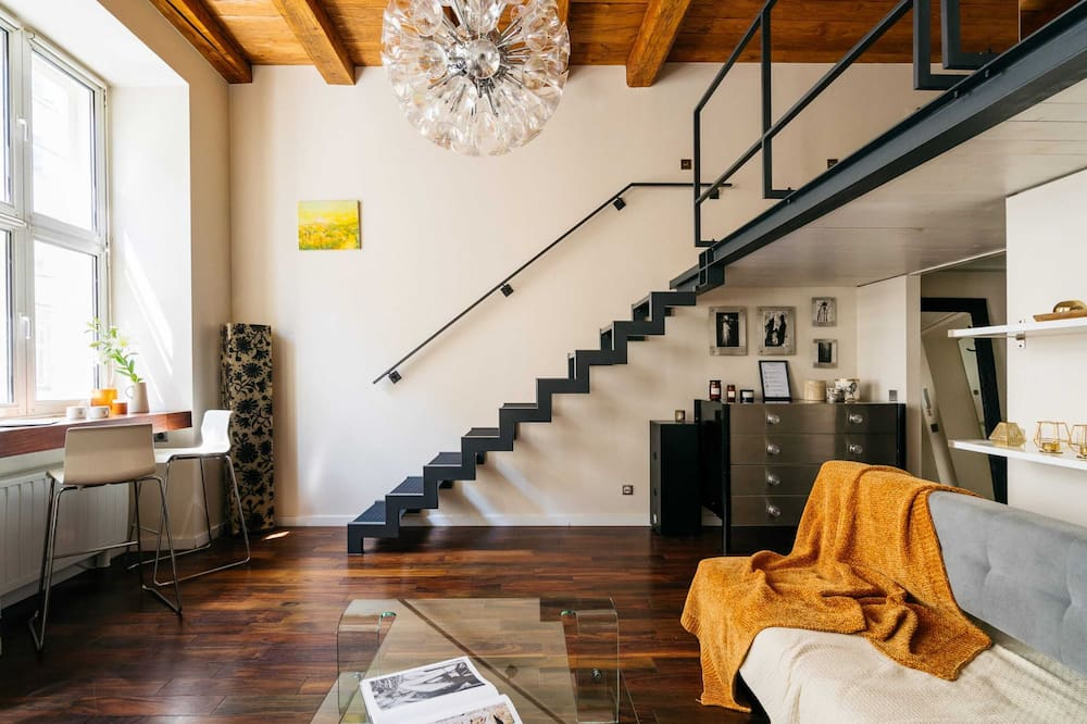 City Studio - Living Room