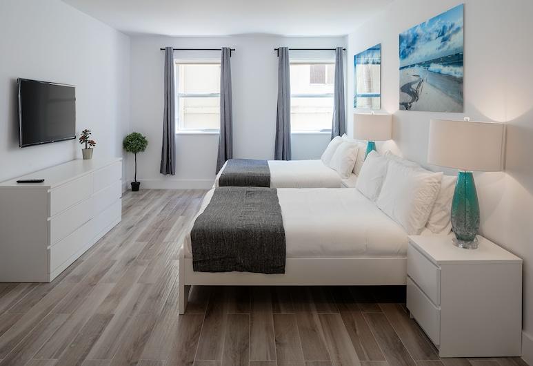 Casa Grande Suites on Ocean Dr by SV Rentals, ميامي بيتش, شقة إستديو عادية (406), الغرفة