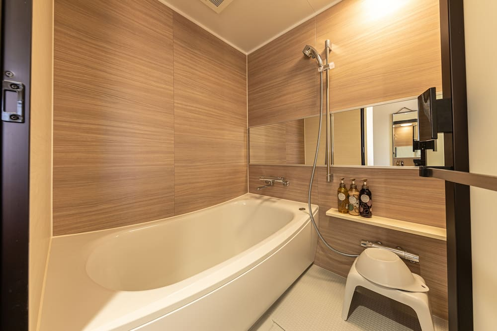 Zweibettzimmer (Moderate) - Badezimmer