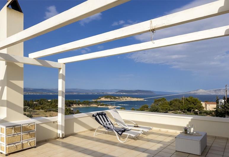 Porto Cheli Kounoupi Paradise View Luxury Retreat, إرميونيدا, تِراس/ فناء مرصوف