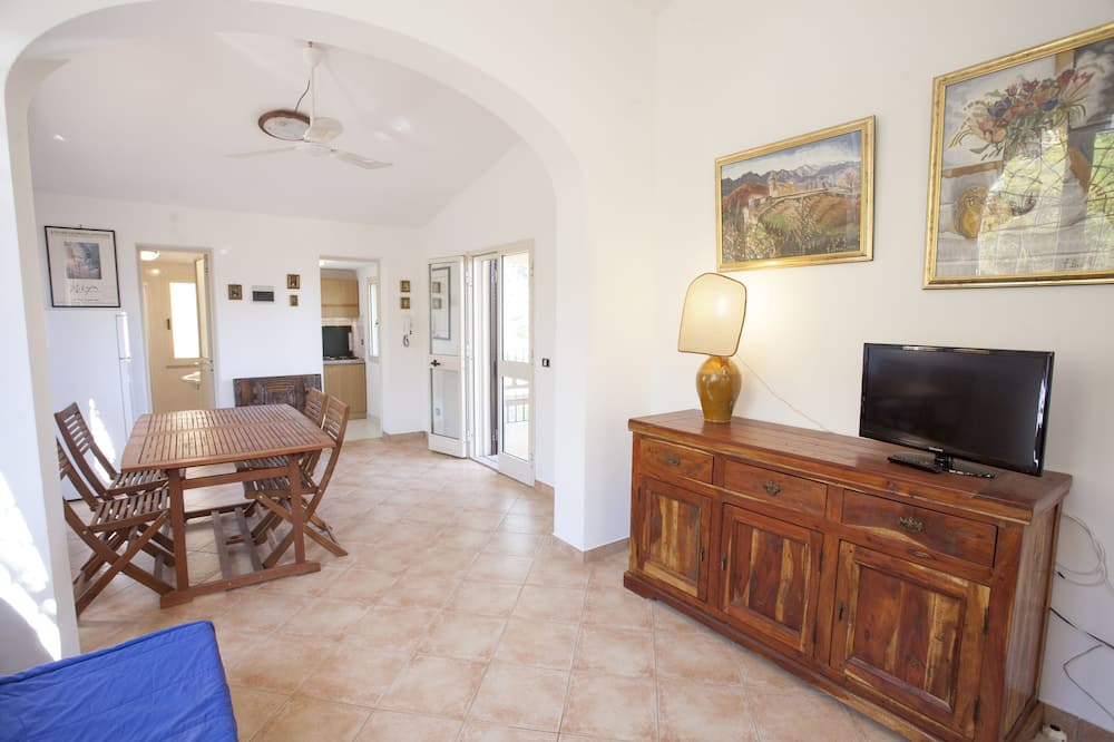 Apartmán, 2 ložnice (Le Sughere) - Obývací prostor