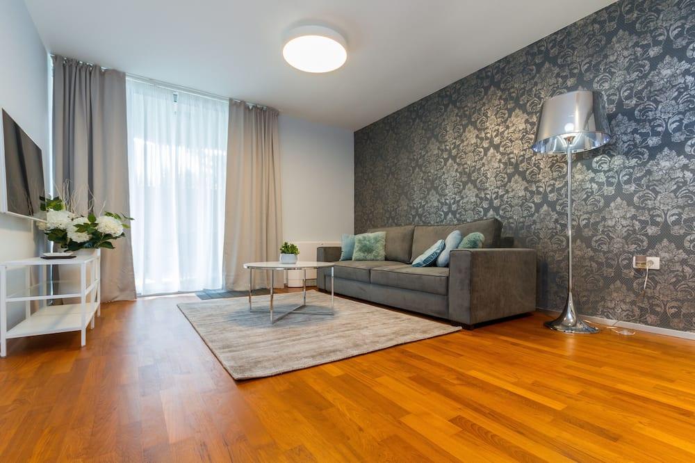 Departamento Deluxe, 1 habitación, terraza - Sala de estar