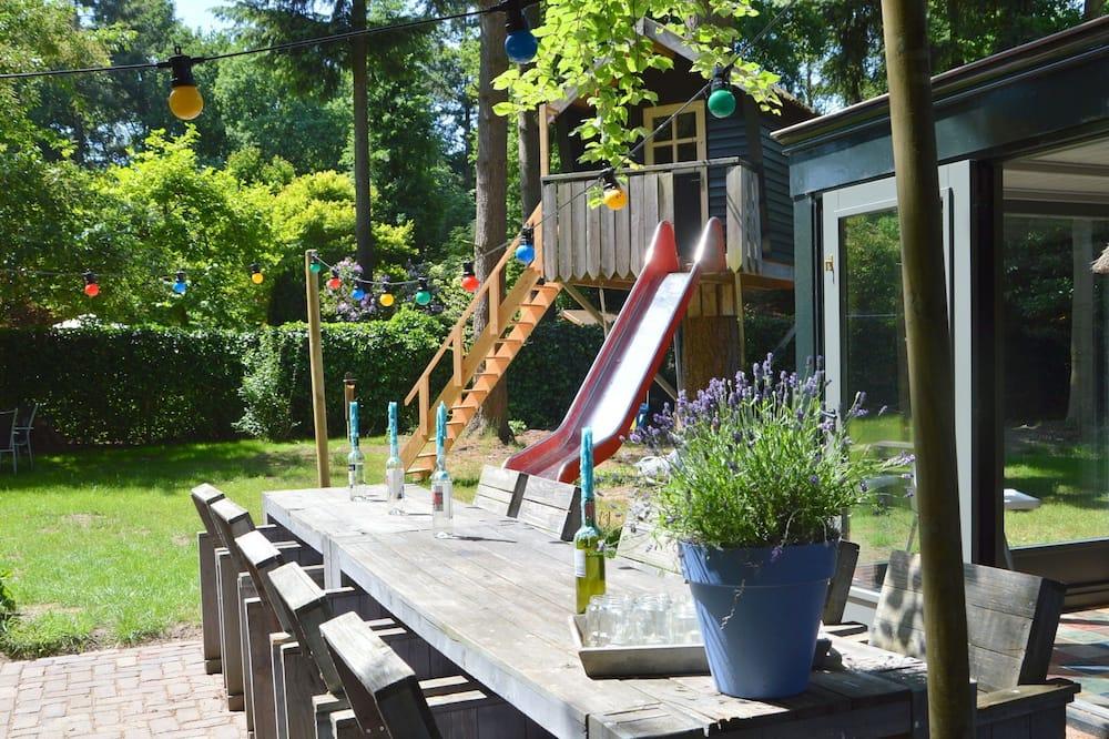 Ferienhaus - Balkon
