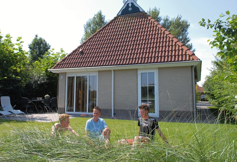 Detached Bungalow With Whirlpool and Solarium, in Nature, Earnewald