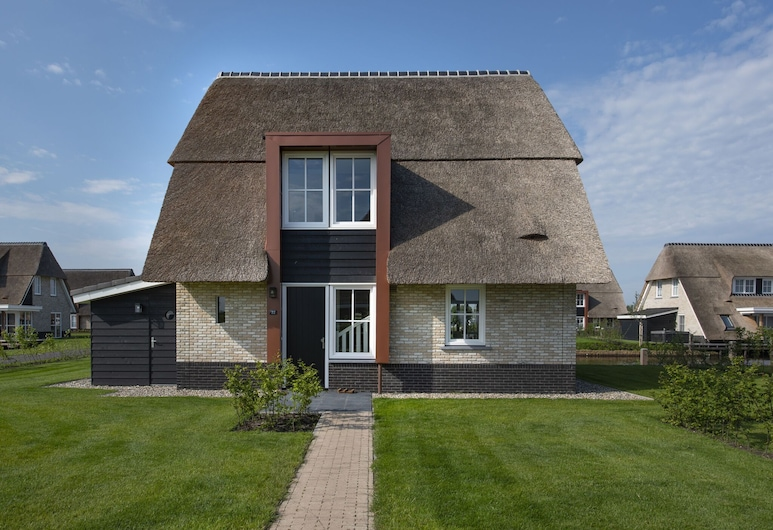 Beautiful, Chic Villa With a Fireplace at the Tjeukemeer, Delfstrahuizen