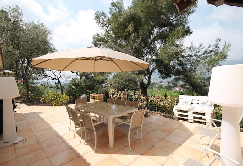 Villa Colomar, Colomars, Balkon
