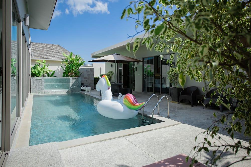 3-Bedroom Villa with Private Pool - Piscina