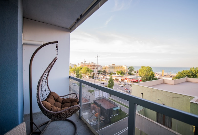 Apartament Black Sea, Constanta, Appartamento Basic, Vista balcone