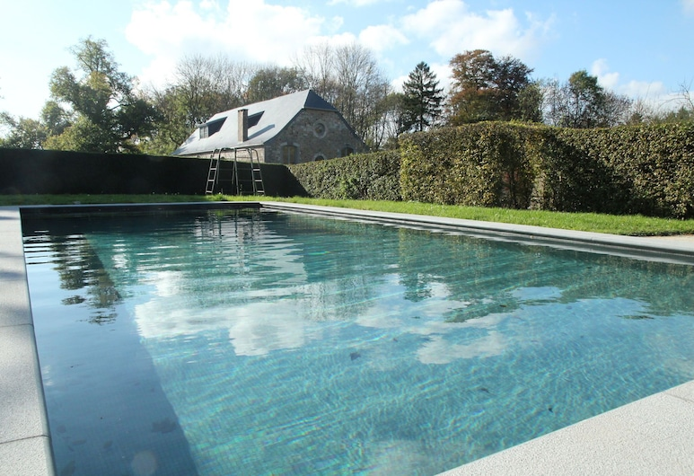 Gite With Swimming Pool Situated in Wonderful Castle Grounds in Gesves, Жеве, Басейн