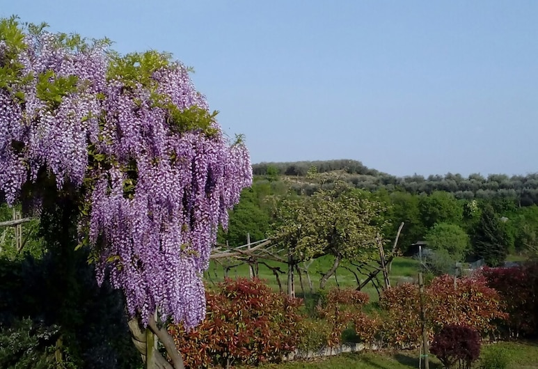 Cosy Detached House, 4 km far From Lake Garda, big Private Garden With Terrace, Pastrengo, Ogród