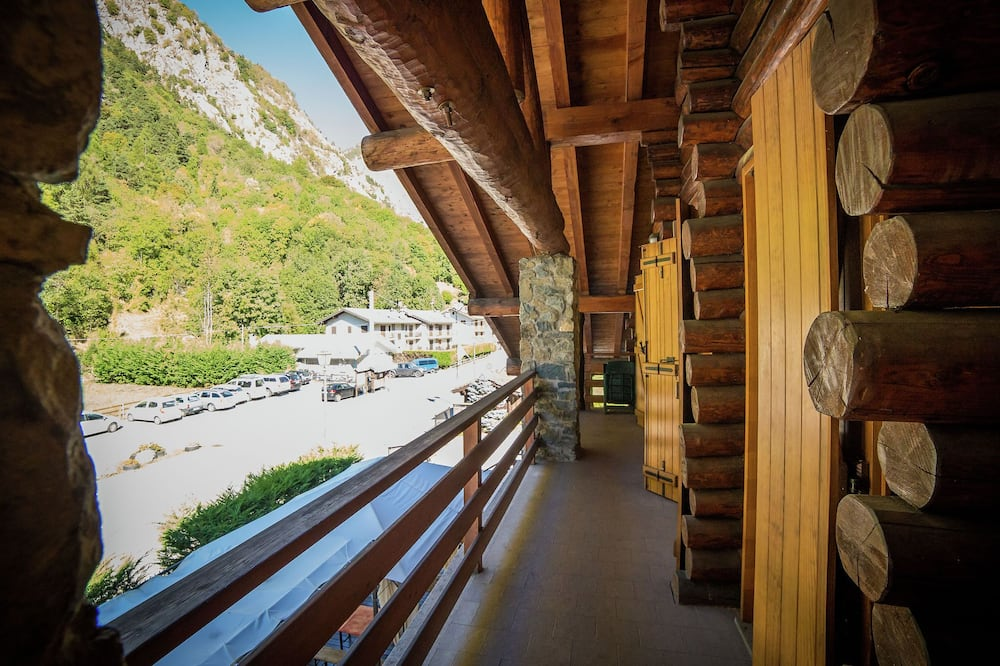 The Chalet is Situated in a Quiet and Sunny Area of Antey Saint André