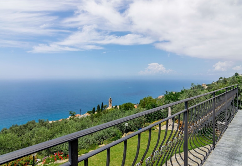 Scenic Holiday Home in Pieve Ligure With Private Garden, Pieve Ligure, Balkon