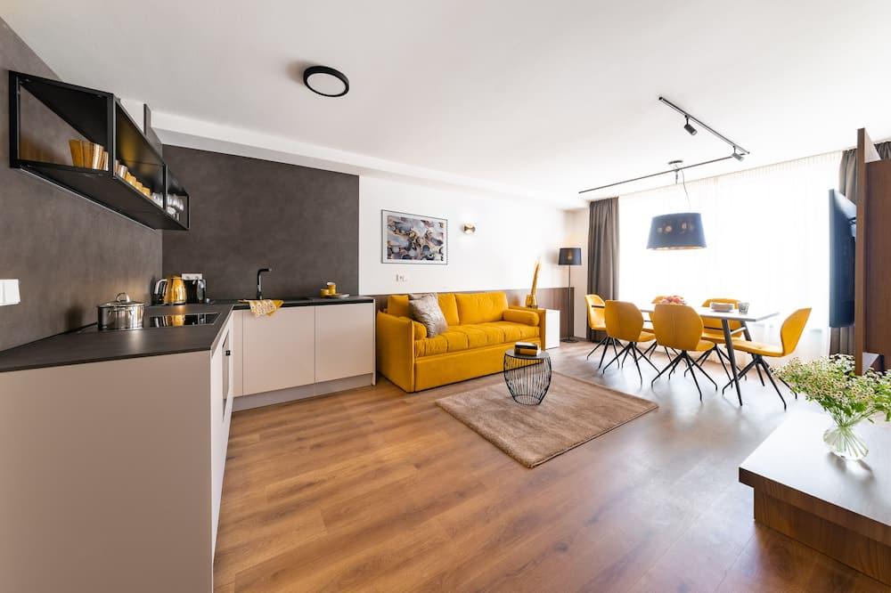 City Suite - Obývacie priestory
