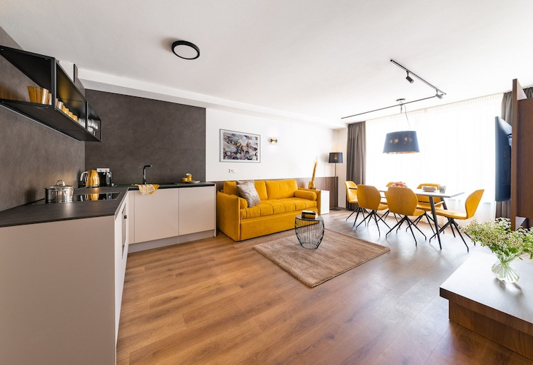Gerharts Premium City Living, 布列瑟農, City Apartment, 客廳