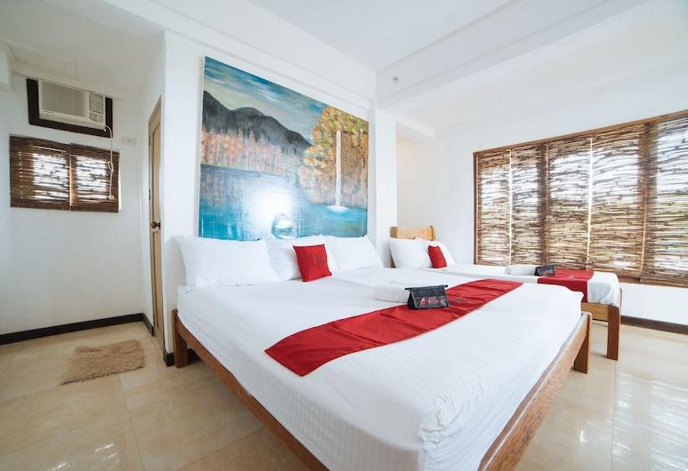 RedDoorz @ Sabang Beach Baler, Baler, Family Studio, Guest Room