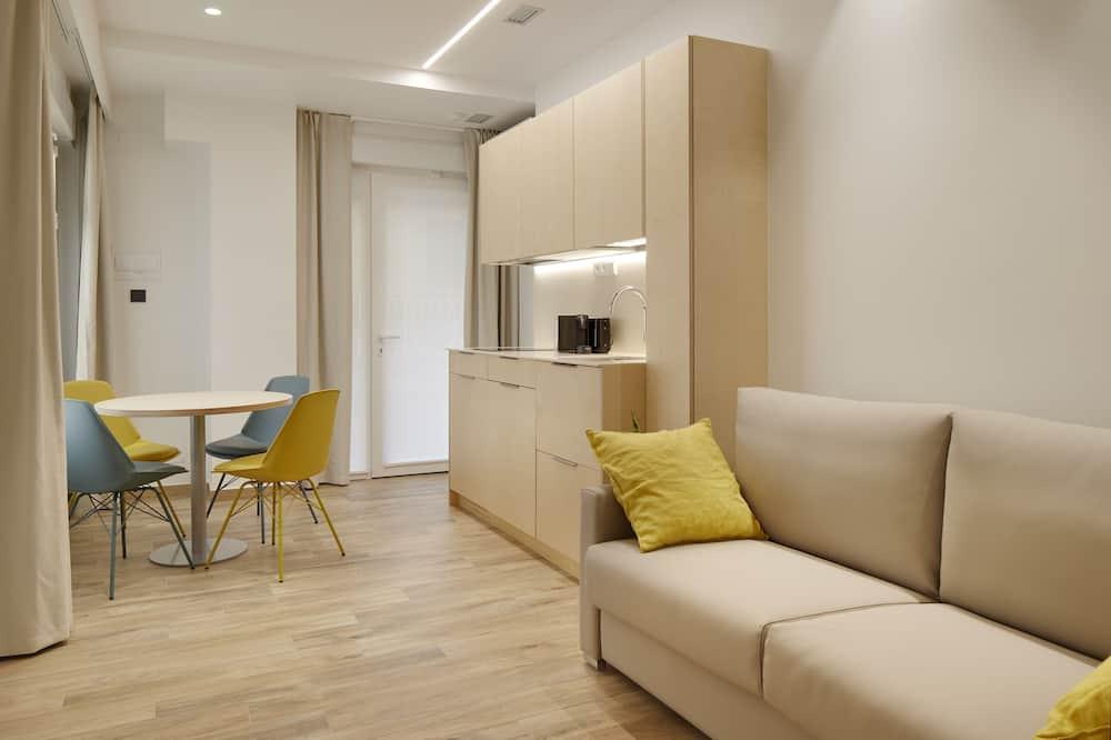 Studio (Ground floor) - Living Room