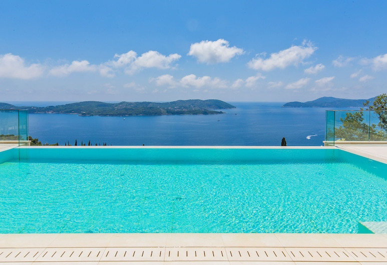 Villa Touran, Dubrovnik, Piscina infinita