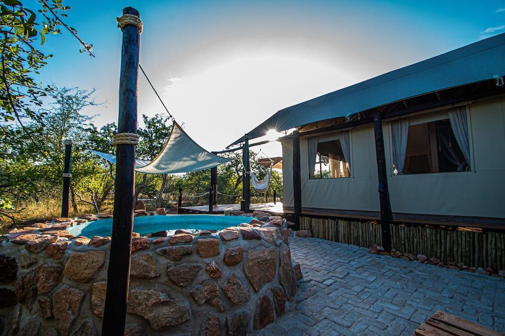 奢華帳篷 - 私人泳池