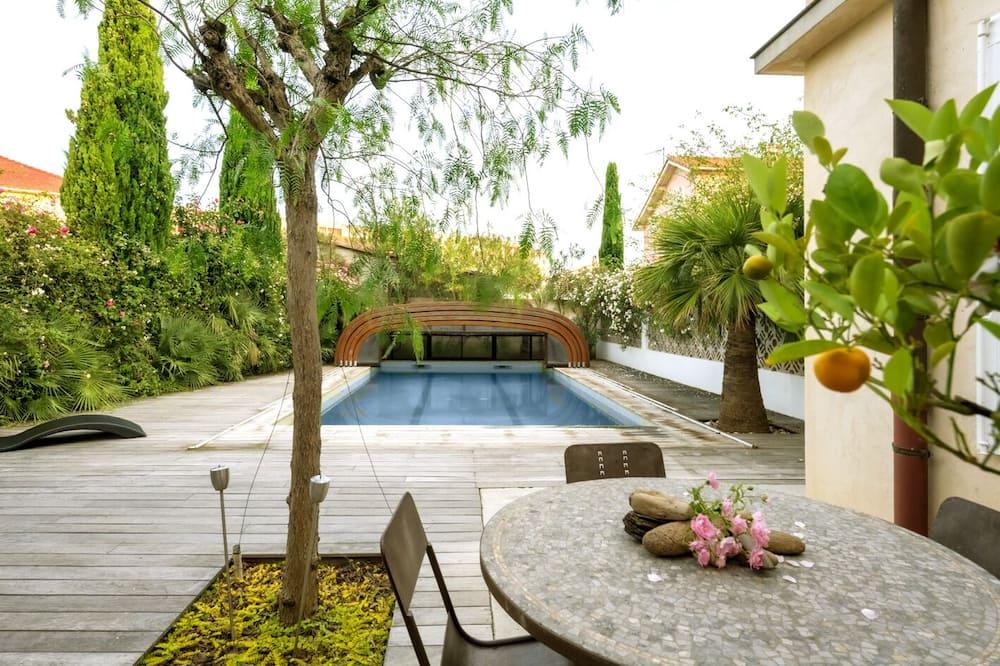 Villa familiare, bagno in camera, vista piscina - Piscina