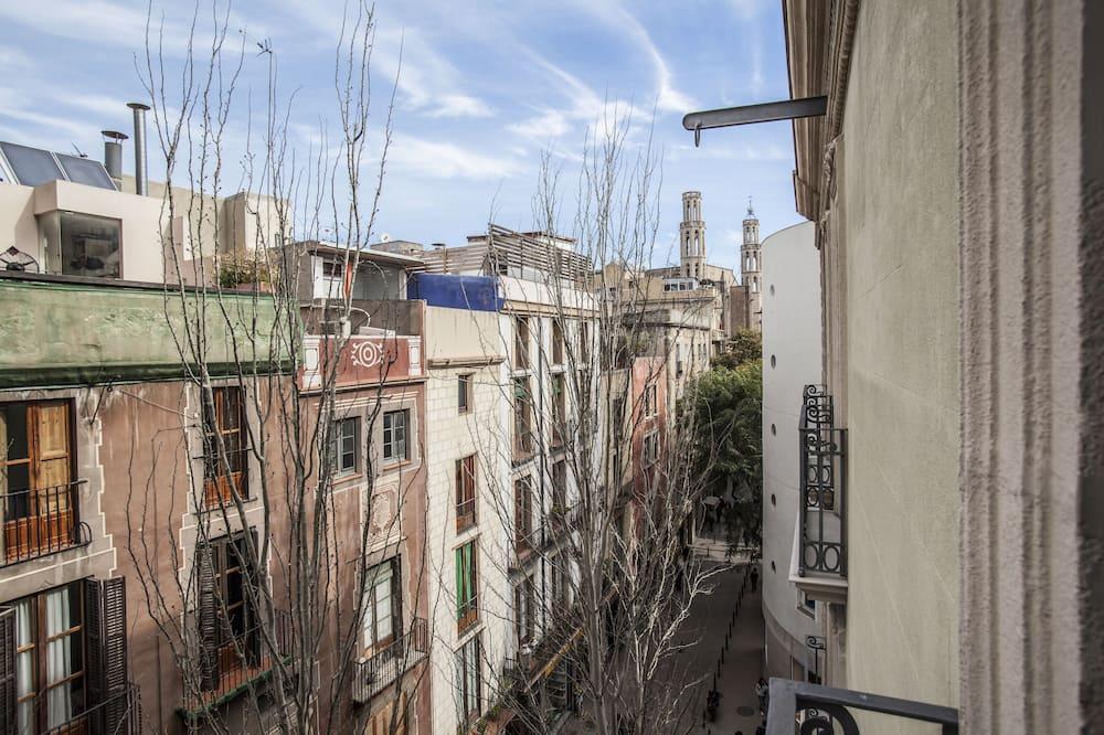 Apartament, 3 sypialnie (BCNGOTIC 43) - Balkon