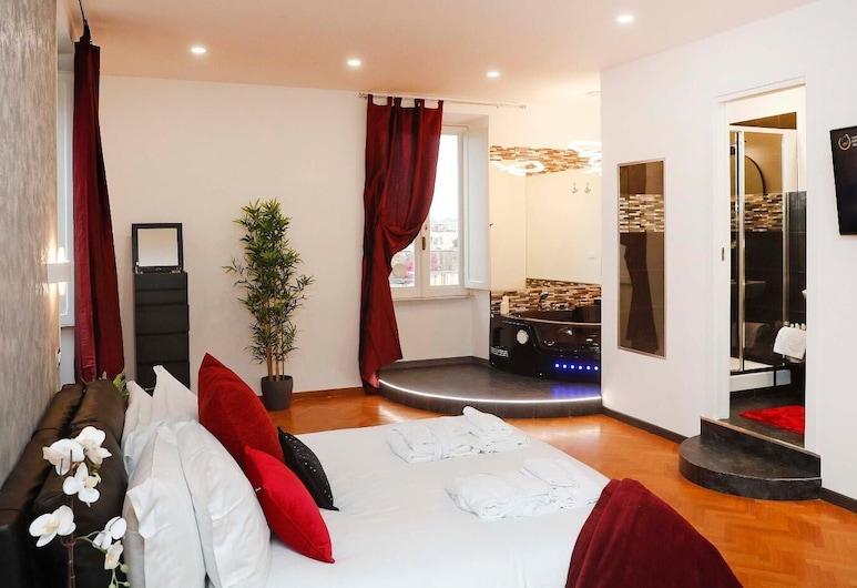 ラグジュアリー スパニッシュ ステップス, ローマ, アパートメント 1 ベッドルーム (Few Steps), 部屋