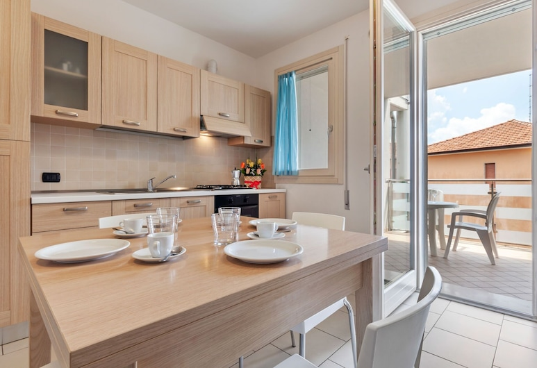 New Modern Apartments in Rosolina Mare City Centre, Equipped With all Comforts, Rosolina, Cuisine privée