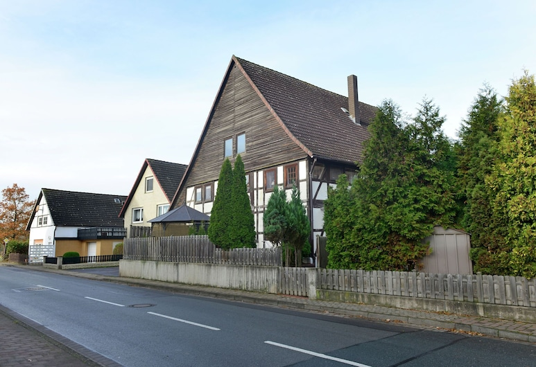 Wooden Apartment in Löwensen Lower Saxony With Terrace, Bad Pyrmont