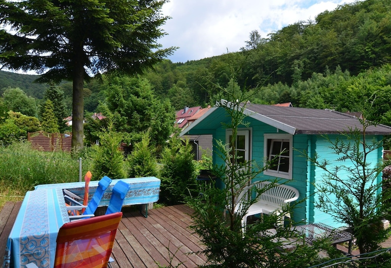 Vintage Holiday Home in Lonau With Pool, Herzberg am Harz, Vườn