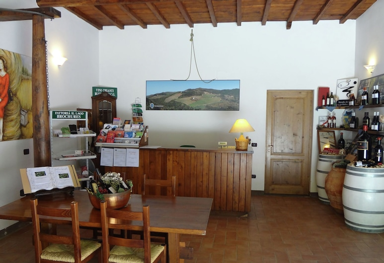 Attractive Apartment in Vineyard With Swimming Pool and Views Over Tuscany, Dicomano, Reception