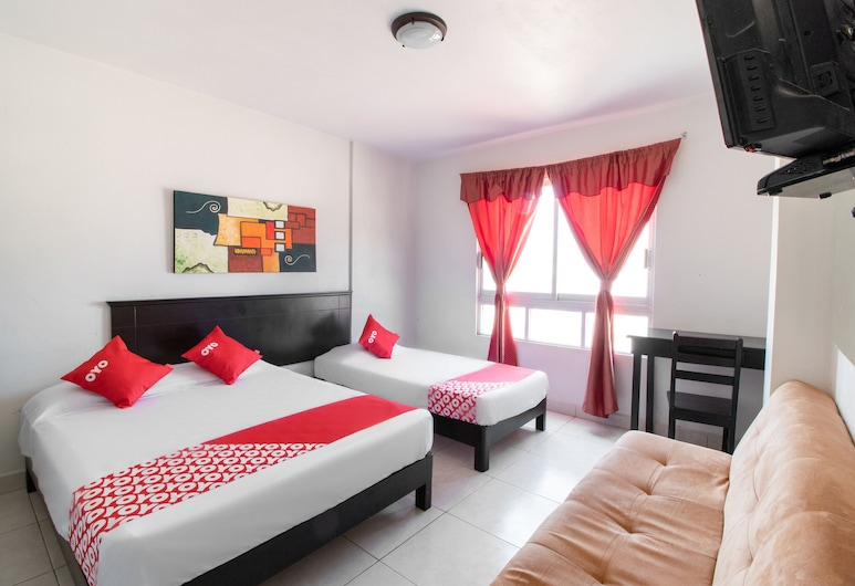 Hotel Independencia Inn, Coatzacoalcos, Standard Triple Room, Bilik Tamu