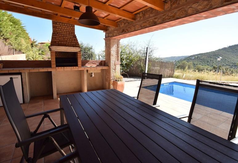 Lovely Villa in Calonge With Private Pool, Calonge, วิลล่า, ระเบียง