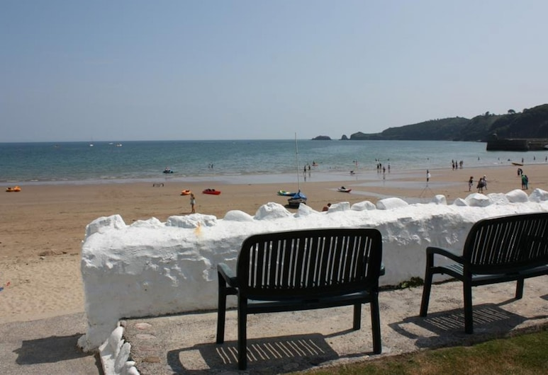 Lovely Apartment Right on the sea in Saundersfoot, With Beautiful Window bay, Saundersfoot, Balcón