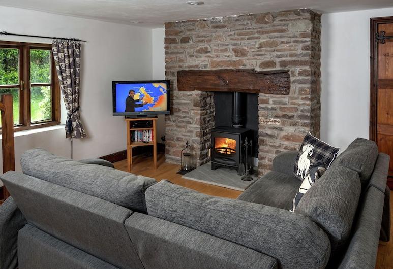 A Lovely old Stone Barn Between Talgarth and Crickhowell, Crickhowell, Casa, Sala de estar