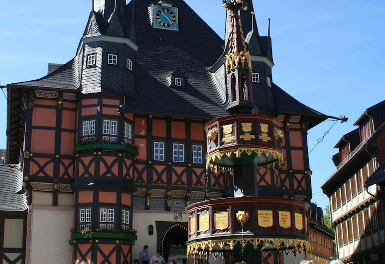 Apartment in a Historic Half-timbered House in Wernigerode/harz, Wernigerode, Exterior
