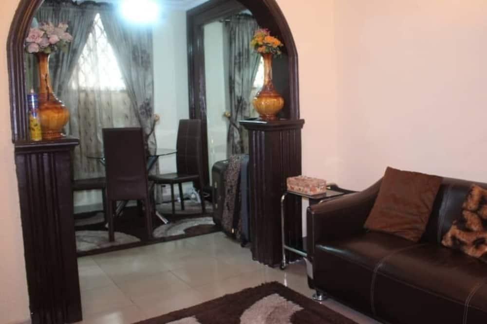 Luxe eenpersoonskamer, 1 slaapkamer, Toegankelijk voor mindervaliden, roken - Woonruimte