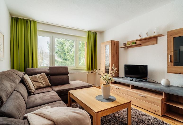 Bode-Apartments, أوبيرهارز ام بروكين, شقة (3), غرفة معيشة
