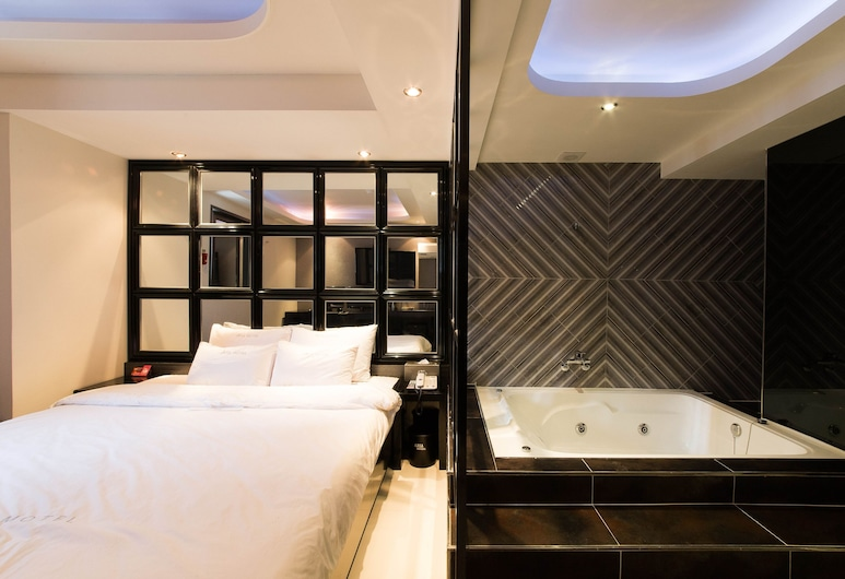 Aria Motel, בוסאן, חדר פרימיום, חדר אורחים
