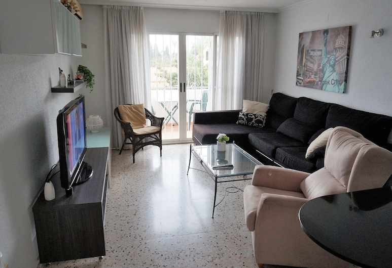 Luxurious Apartment in L'albir With Terrace, ลัลฟาส เดล ปิ, ห้องนั่งเล่น