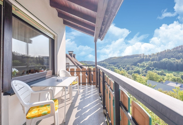 Large Holiday Apartment Near Willingen With Private Garden and Terrace, Medebach, ระเบียง