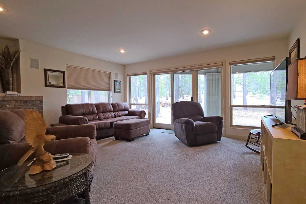 Casa, Varias camas, bañera de hidromasaje - Sala de estar