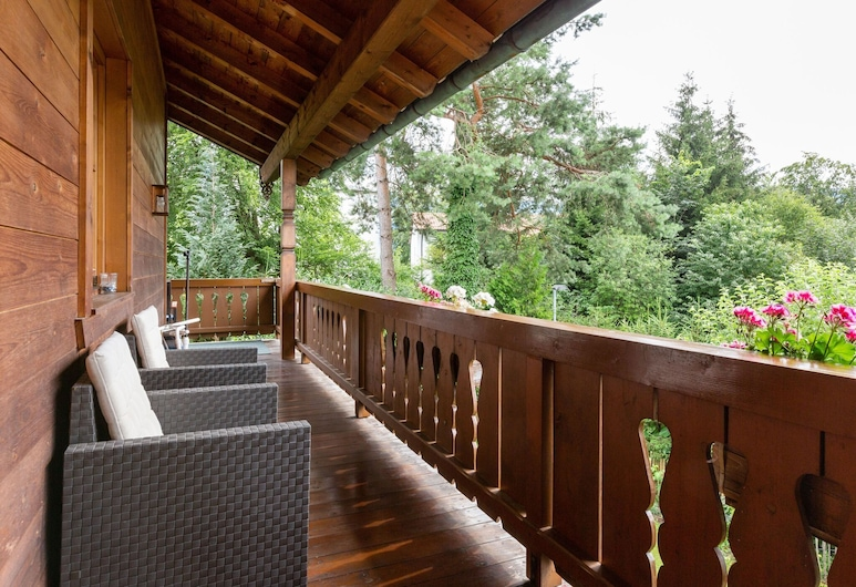 Comfortable Apartment in Ruhpolding With a View of the Alps, Ruhpolding, Balcon