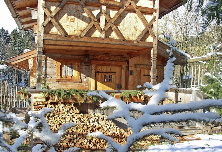 Cosy Eco-friendly Chalet With Countless Extras Near the Lake in Asten, Tittmoning, Huis, Balkon
