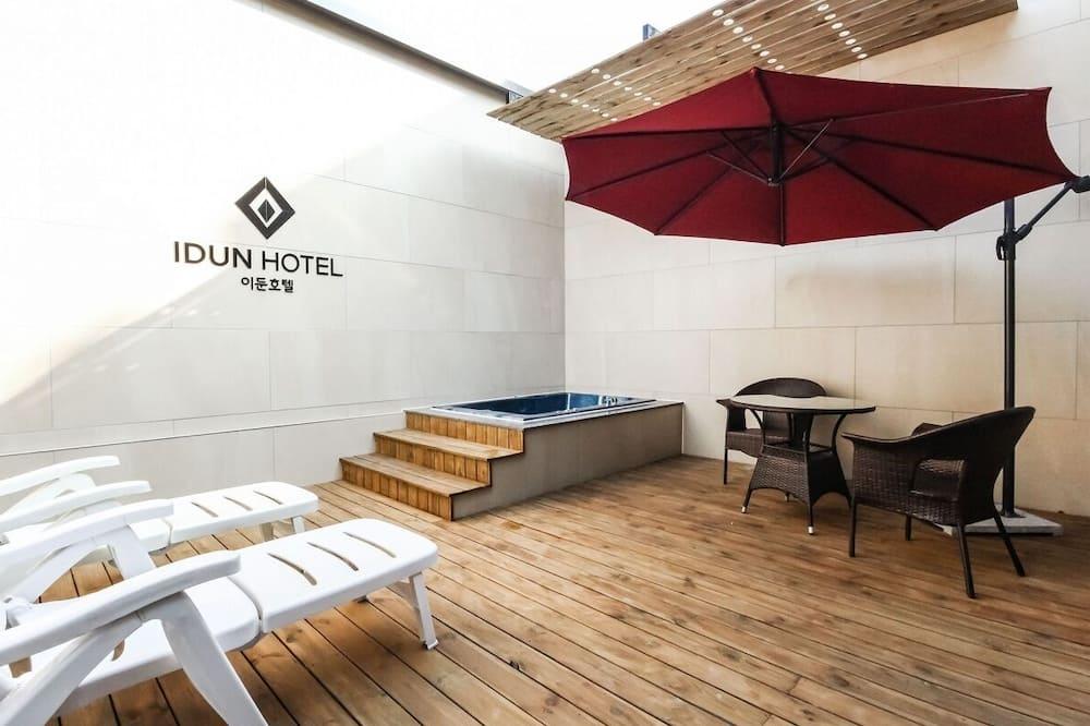 Dvojlôžková izba typu Superior (Outdoor Spa) - Súkromná vírivka