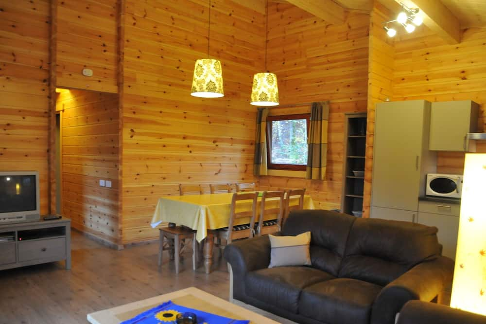 Modern, Wooden Chalet With Stove, Located in the Forest
