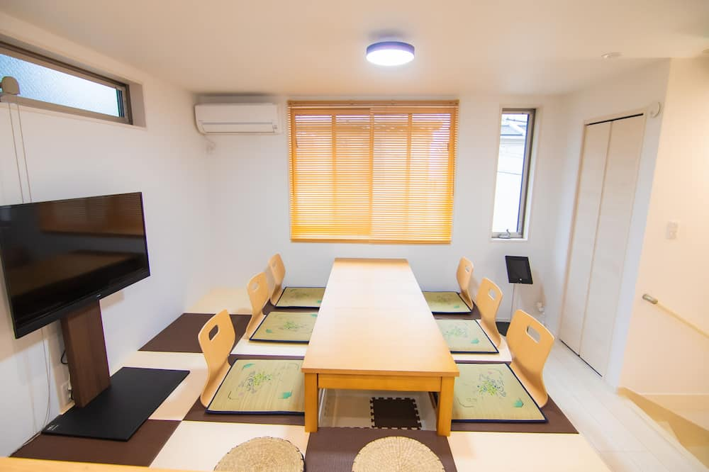 3 Story House - Living Area