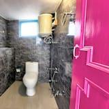 Deluxe szoba kétszemélyes ággyal, privát fürdőszoba - Fürdőszoba