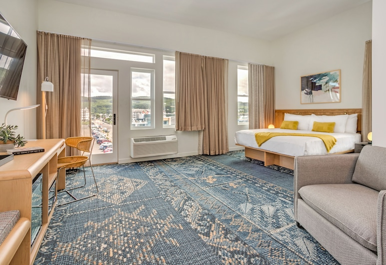 SaltLine Hotel , Seaside, Pokoj typu Deluxe, dvojlůžko (200 cm), Výhled z pokoje